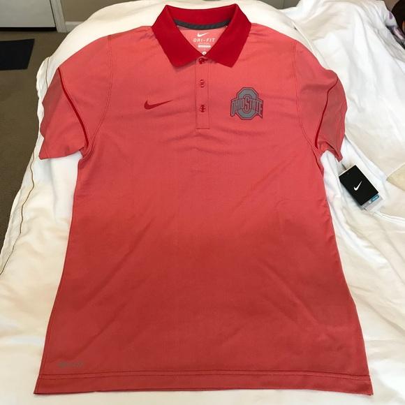 ef3f42bf Nike Shirts | Ohio State Buckeyes Pool Shirt Mens | Poshmark